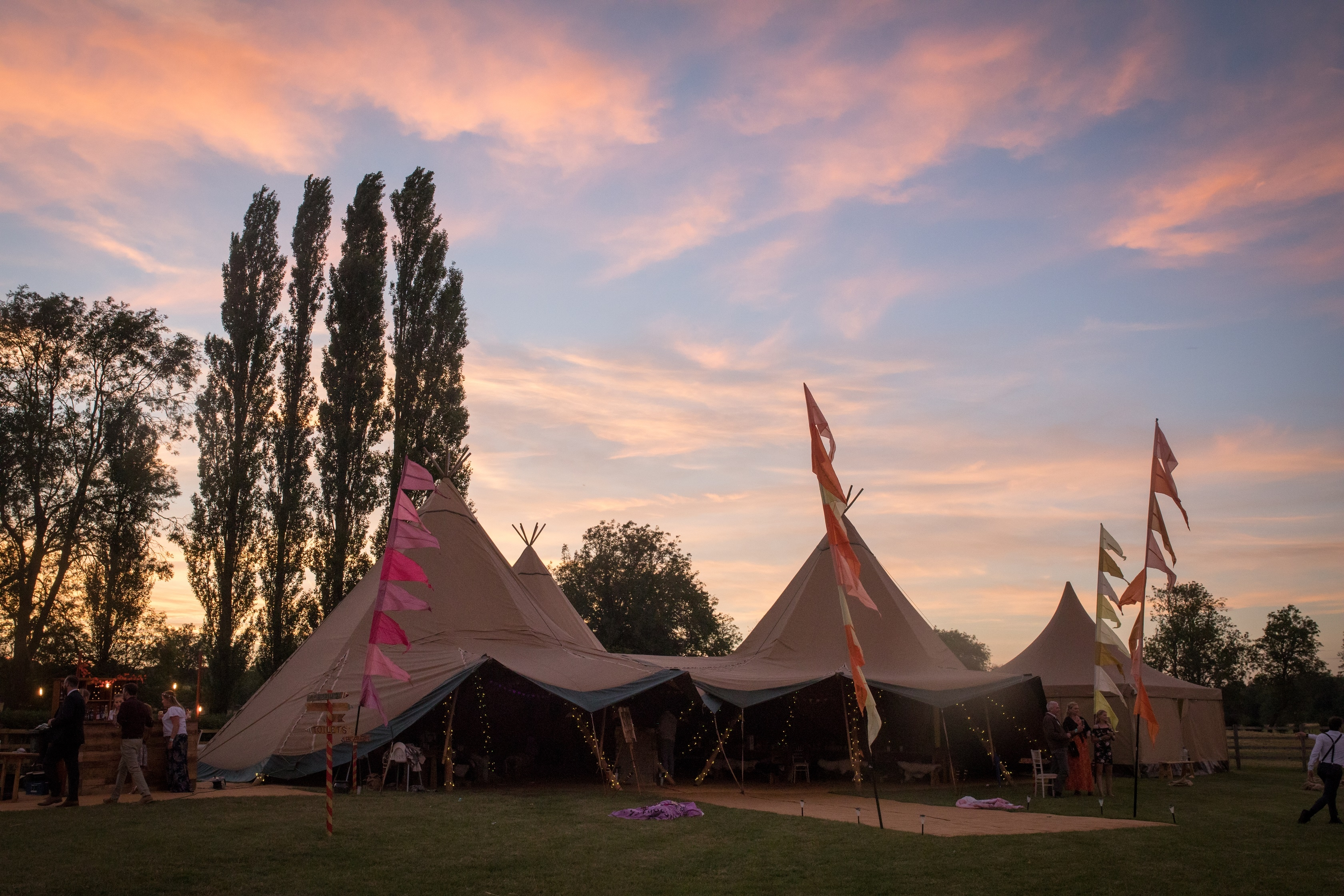 Tipi Wedding Cambridgeshire