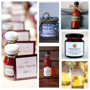 Sauce Wedding Favours