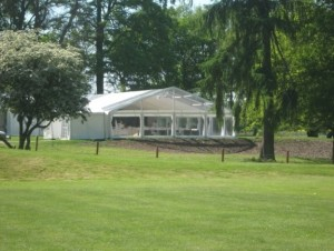 D&D Marquee Hire Clear gable end